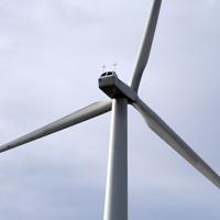 Reperry Manor Farm single wind turbine, Cornwall