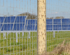 Potbridge Farm, 8mW solar development, Hampshire