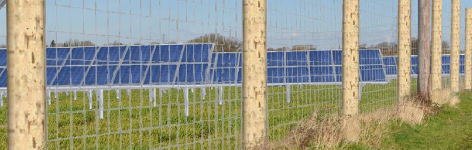 Potbridge Farm, 8mW solar development, Hampshire