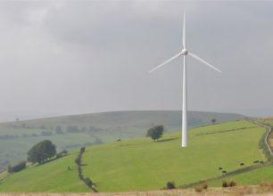 Bedlwyn Farm, 500kW single wind turbine, South Wales