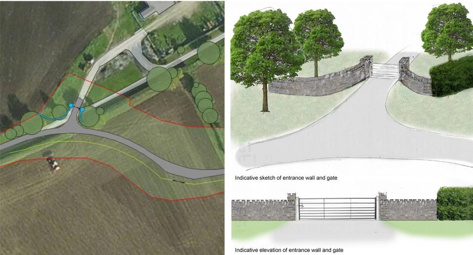 Higher Hill Farm Access Road