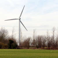 Vaglefield Farm single wind turbine, Torridge