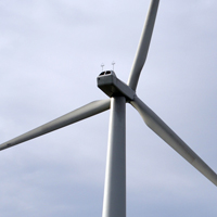 Honeywell Farm single wind turbine, North Devon