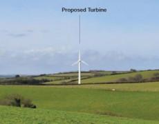 Slade Farm, 50kW single wind turbine, Devon