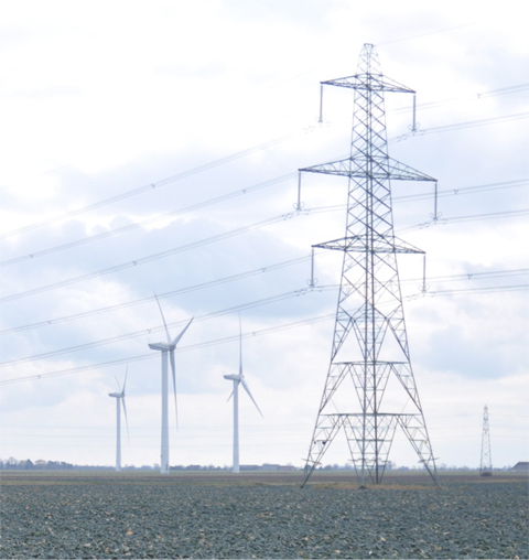 Triton-Knoll-Electrical-Connection-&-Sub-station-power-lines-turbines