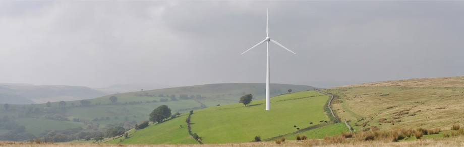 Bedlwyn Farm, 500kW single wind turbine, South Wales
