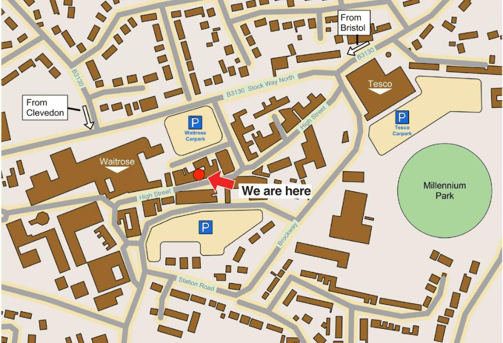 Amalgam Landscape Town Map